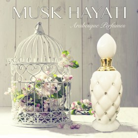 MUSK HAYATI, Пробник 1мл, Arabesque Perfumes с фото и ценой в нашем каталоге